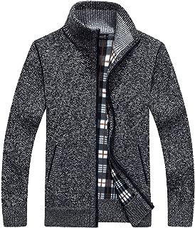GEEK LIGHTING Mens Sweatshirt Full Zip Athletic Fleece Hoodies Jacket