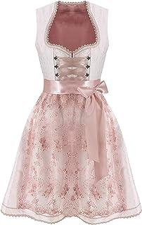 Lukas Dirndl & Trachtenmode Lukas Dirndl Exklusives Designer Midi Damen Dirndl 2TLG. Kleid inkl. Spitzen Dirndlschürze - 18112