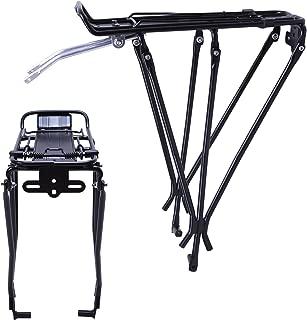 Vilobyc Alloy Bicycle Rear Cargo Rack Carrier Luggage Rack Pannier Rack for Disc Brake Bikes
