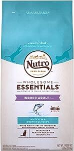 Nutro Wholesome Essentials Indoor Adult Dry Cat Food, White Fish