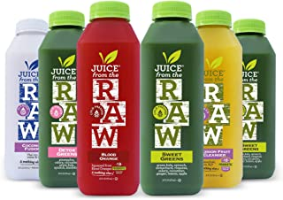 3-Day Juice Cleanse with Probiotics by Juice From the RAW - Improve Digestive System / Lose Weight Quickly / Detoxify Your...