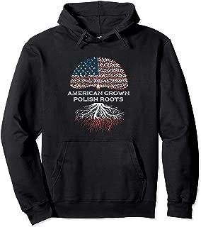 Polish Flag Hoodie Gift Women Men American Poland Roots US