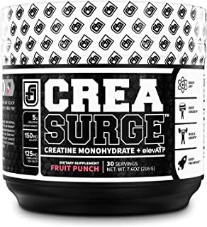 CREASURGE Pre Workout Creatine Powder w/ ElevATP - Muscle Builder & Preworkout Strength Supplement | Boost ATP, Muscle Gro...