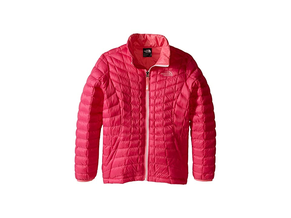 The North Face Kids Thermoball Full Zip Jacket (Little Kids/Big Kids) (Cabaret Pink (Prior Season)) Girl