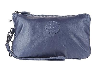 Kipling Creativity XL Printed Pouch (Midnight Frost) Clutch Handbags