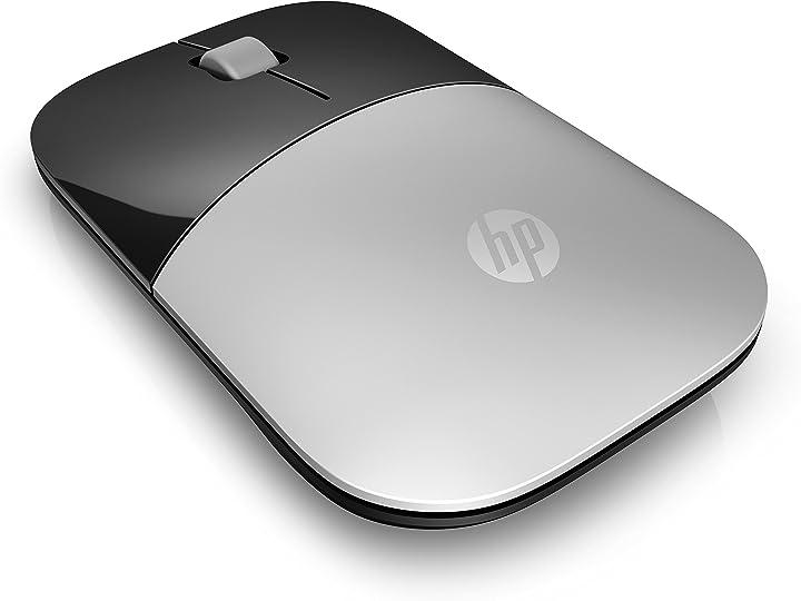 Mouse wireless -hp - pc z3700, sensore preciso, tecnologia led blue, 1200 dpi, 3 pulsanti X7Q44AA#ABB