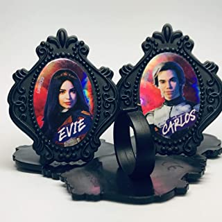 Descendants 3 Cupcake Topper Rings Party Favors Package of 36 from Blue Fox Baking