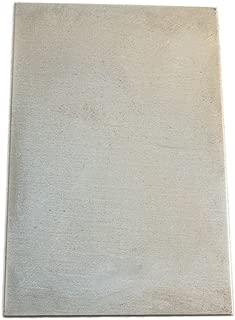 Nickel Anode/Electrode/Sheet Metal (15 x 10 cm) for Nickel Plating Solution, Polymet Galvanotech