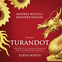 Best andrea bocelli turandot Reviews
