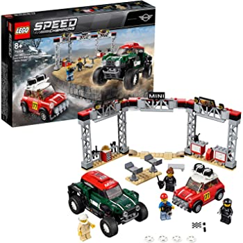 Technic Car Series 10242 Mini Cooper Model Building Blocks 1108 Pcs Spielzeug DE