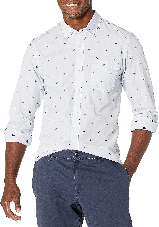 Goodthreads Sale special price Men's Milwaukee Mall Slim-Fit Shirt Dobby Long-Sleeve