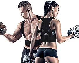 Forcado Unisex Magnetic Back Brace Posture Corrector Therapy Shoulder Belt for Lower and Upper Back Pain Relief, posture corrector men for women,back support posture correction belt (Free Size)