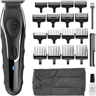 WAHL Beard Trimmer Men, Aqua Blade Hair Trimmers for Men, Stubble Trimmer, Male Grooming Set, Fully Washable, Ultra Close ...
