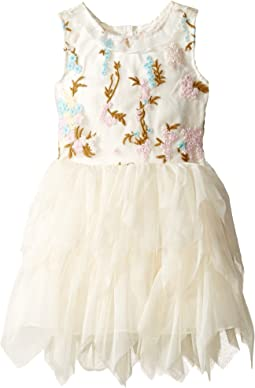 Embroidered Bodice Ballerina Dress (Infant)