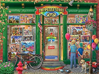 White Mountain Puzzles The Puzzle Store - 1000 Piece Jigsaw Puzzle