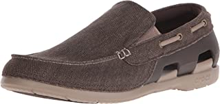 Crocs Mens Beach Line Canvas Slip-on Shoe