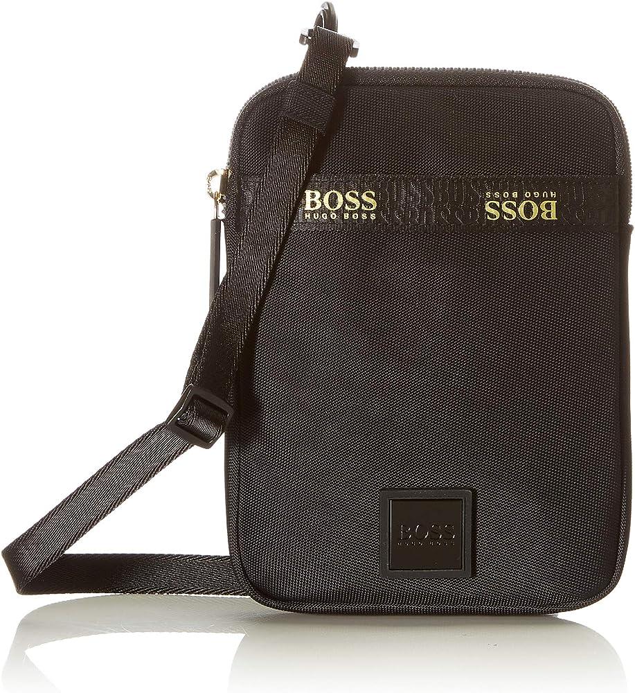 Boss pixel g_neck pouch, borsello per uomo, tasca sul collo,in 100 %  poliammide 50451708