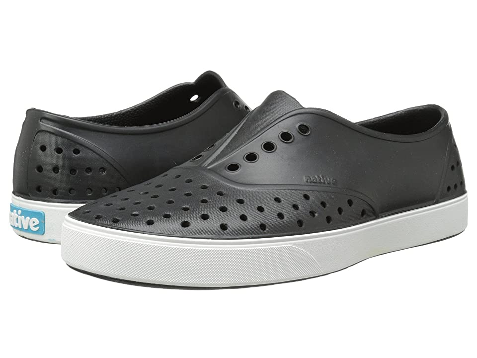 Native Shoes Miller (Jiffy Black/Shell White) Slip on Shoes