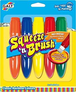 Galt Toys Squeeze 'n Brush Five Classic Colours