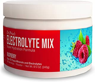 Electrolyte Mix Supplement Powder, 90 Servings, 72 Trace Minerals, Potassium, Sodium, Electrolyte Replacement Keto Drink |...