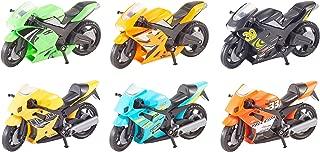 GG-00981 Grandi Giochi Multicolore Moto Routes 10 cm Assortie