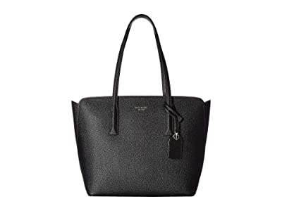 Kate Spade New York Margaux Medium Tote (Black) Handbags