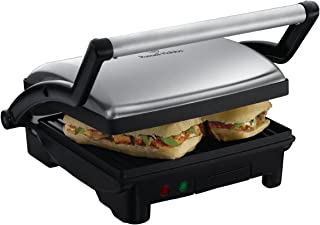 Russell Hobbs Grill and Panini Maker, Silver, 17888