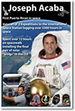 NASA Astronaut Joseph Acaba - First Puerto Rican in Space - NEW Poster
