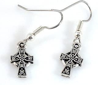 Tiny St Brigid Cross Earrings 1683