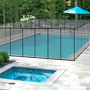 Removable Pool Fence W Unbreakable Posts Youtube