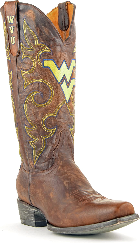 NCAA West Virginia Mountaineers Men's Board Room Style Boots