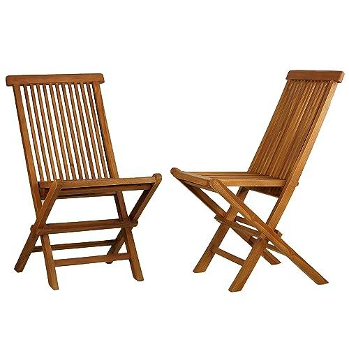 Indoor Teak Dining Chairs Amazon Com