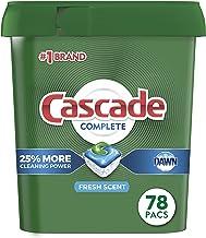 Cascade Complete Dishwasher-Pods