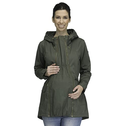 c84b769bb4cca Modern Eternity Maternity Jacket 3 in 1 Technology Military Style