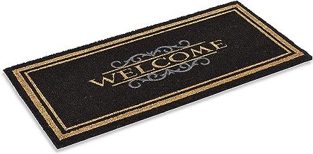 Kempf Printed Coco Coir Doormat Elegant Welcome Design 22