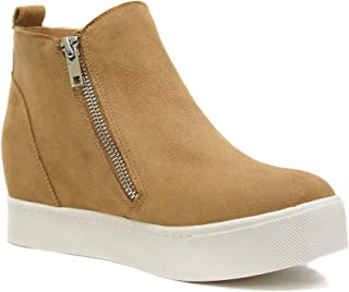 e23eacdc88c6 Amazon.com: Wedge - Ankle & Bootie / Boots: Clothing, Shoes & Jewelry
