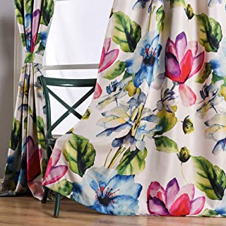 Best pink patterned curtains Reviews