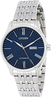 Citizen Mens Automatic Watch with Day and Date Display -Powered by High precision Made in Japan Self winding Mechanical Mo...