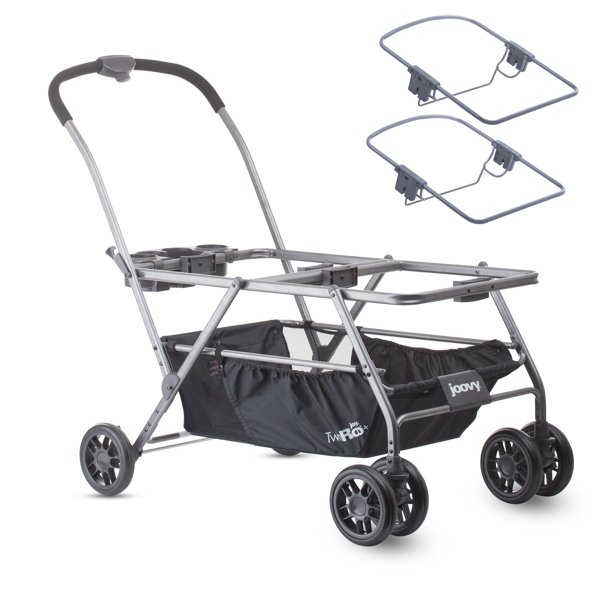 JOOVY Twin Roo Plus Seat Stroller Chicco Adapters
