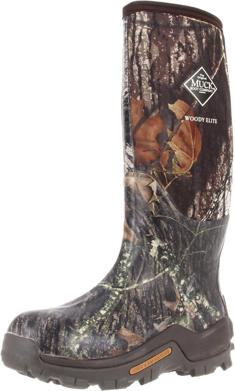 The Original MuckBoots Adult Woody Elite Boot,Mossy Oak