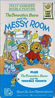 The Berenstain Bears and the MESSY ROOM plus 3 more toons