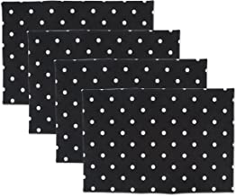 DII Printed Reversible Polka Dot Cotton Napkin, Perfect for Brunch, Catering Events, Dinner Parties, Buffets, Spring Weddi...