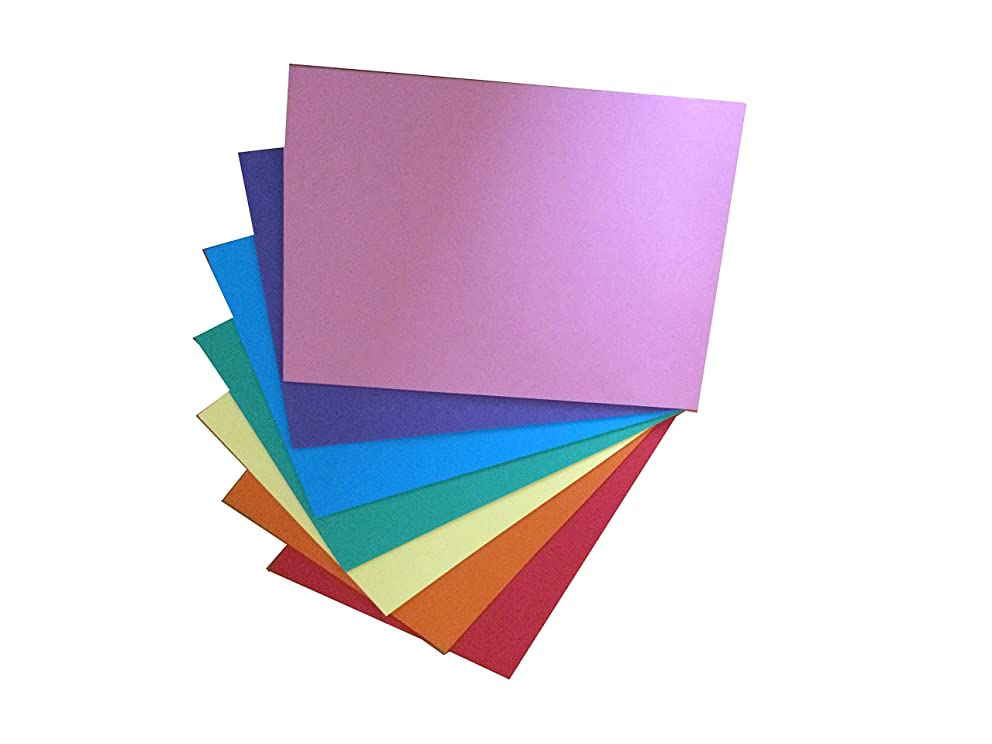 House of Card and Paper Rainbow A4 220 GSM Coloured Card (Pack of 50)