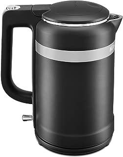KitchenAid KEK1565BM Electric Kettle, 1.5 Liter, Black Matte