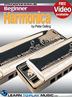 Harmonica Lessons for Beginners: Teach Yourself How to Play Harmonica (Free Video Available) (Progressive Beginner)