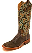 Anderson Bean Women's Turquoise Orleans Square Toe Boots