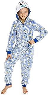 Disney Toy Story 4 Pijamas de Una Pieza Forky Brilla En La Oscuridad, Mono Infantil Entero Super Suave, Pijama Onesie Capu...