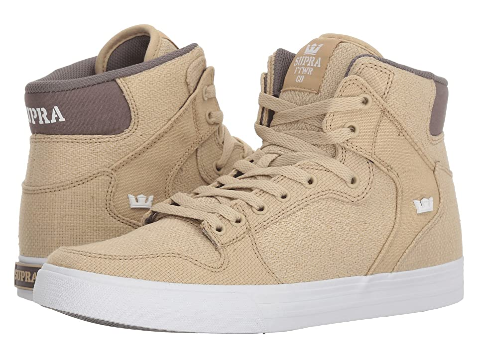 Supra Vaider (Mojave/Dark Grey/White) Skate Shoes