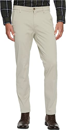 Slim Tapered Fit Workday Khaki Smart 360 Flex Pants