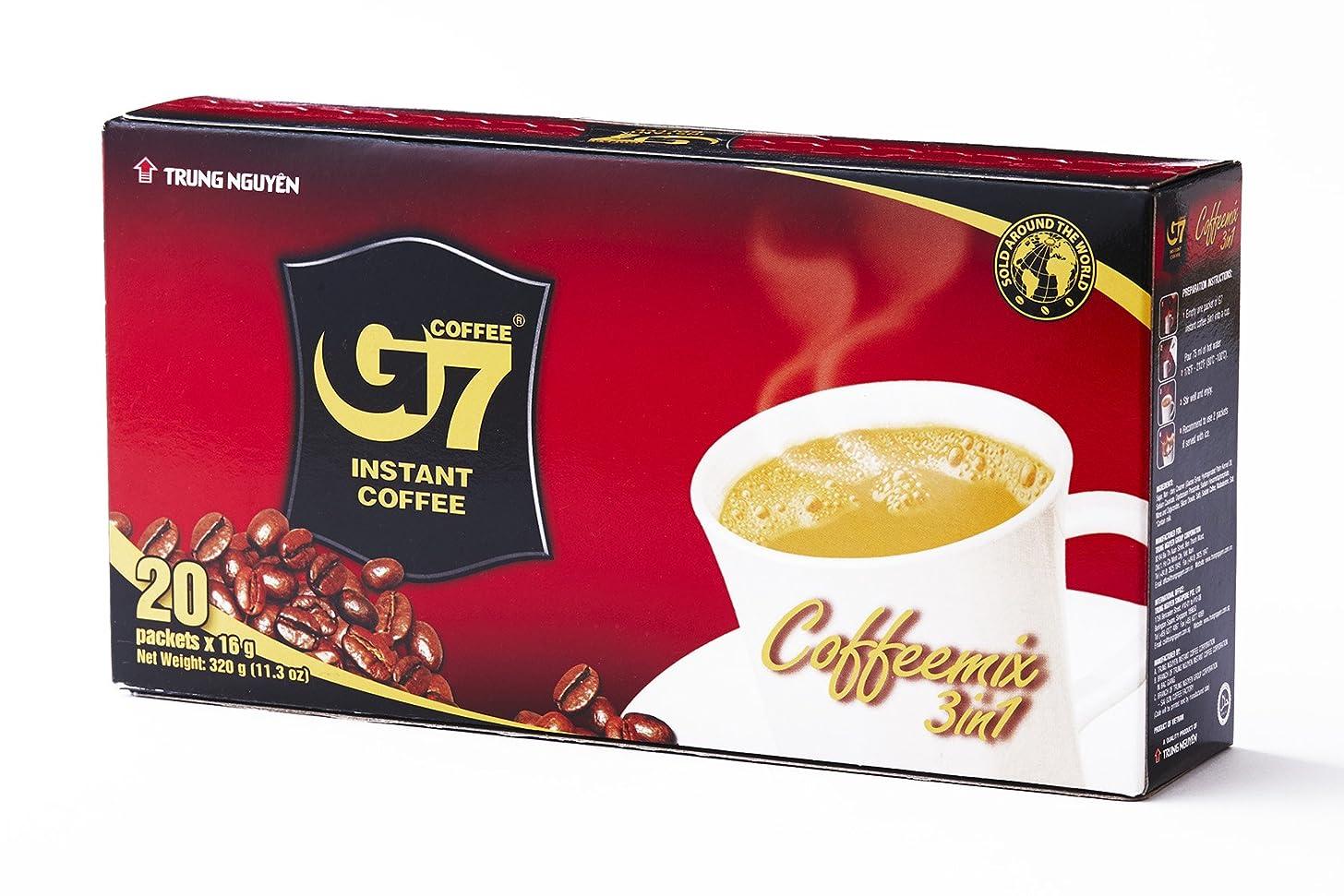 おいしいまもなく抑止する【公式】ベトナムG7コーヒー 3in1 ボックス 正規品×20袋